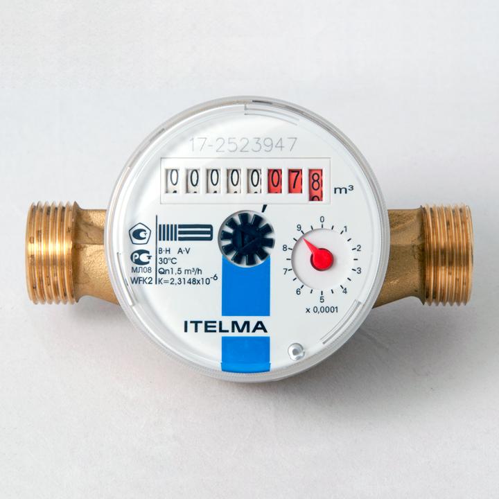 Счетчик холодной воды WFK20.D110 (Ду=15мм, L=110мм) ITELMA – купить в СПб, низкая цена с доставкой